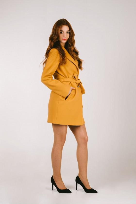 Płaszcz m491 żółty
