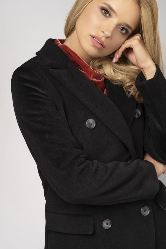 Płaszcz dyplomatka m528 czarny