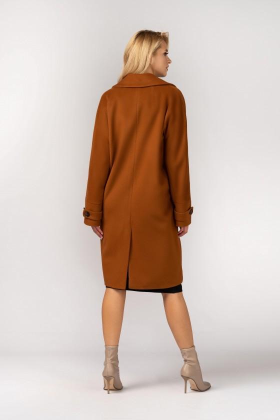 Płaszcz typu kimono m529 rudy
