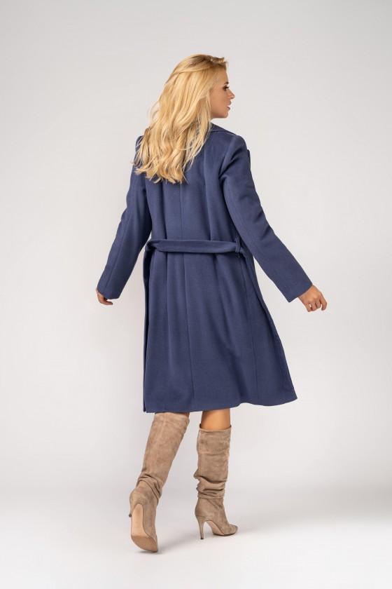 Płaszcz m433 dżinsowy