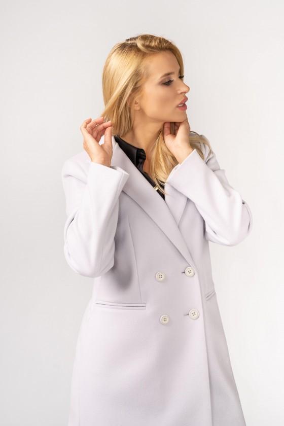 Płaszcz m480 szaroniebieski