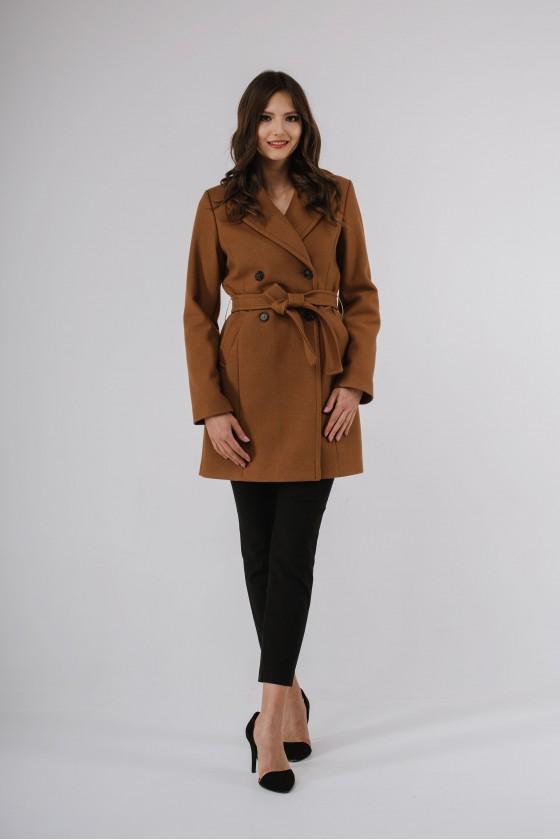 Płaszcz m489 brązowy