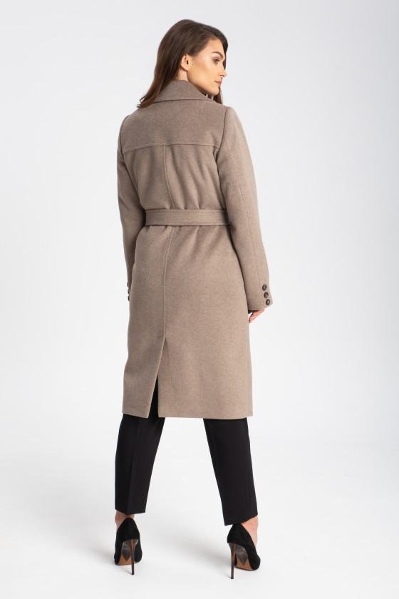 Płaszcz m513 szarobrązowy