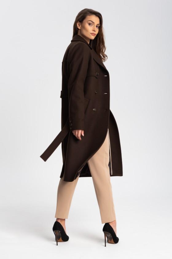 Płaszcz m513 brązowy