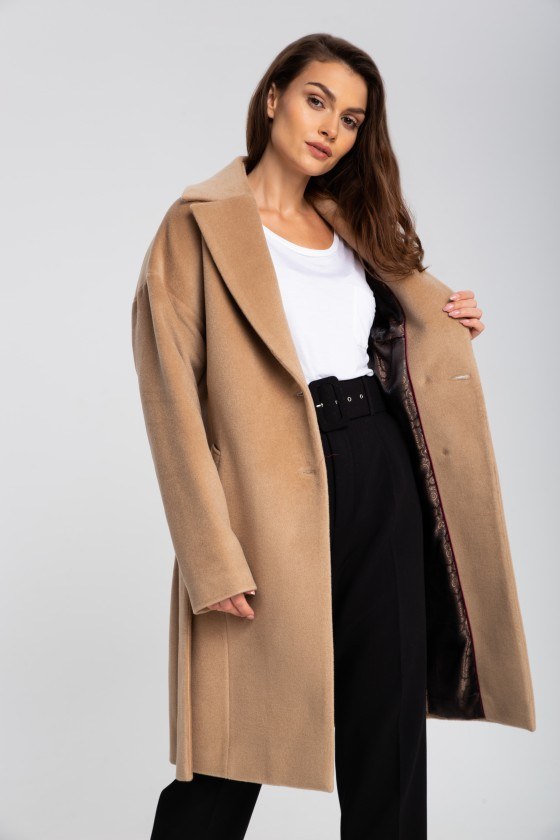Płaszcz m507 camelowy