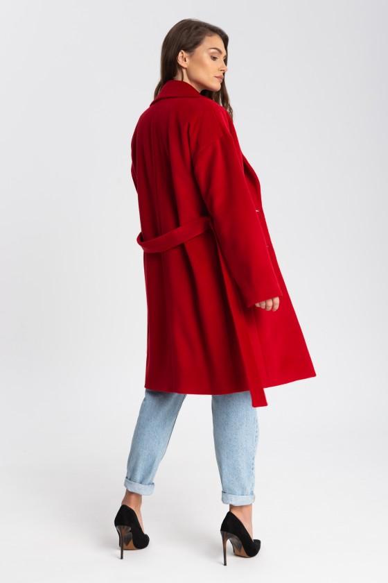 Płaszcz m507 czerwony