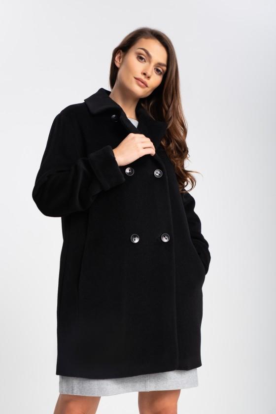 Płaszcz m428 czarny