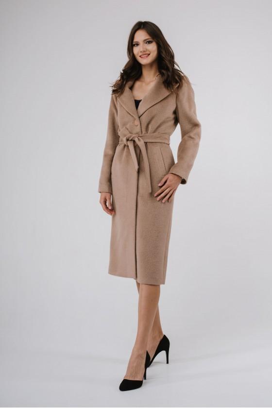 Płaszcz m490 camelowy