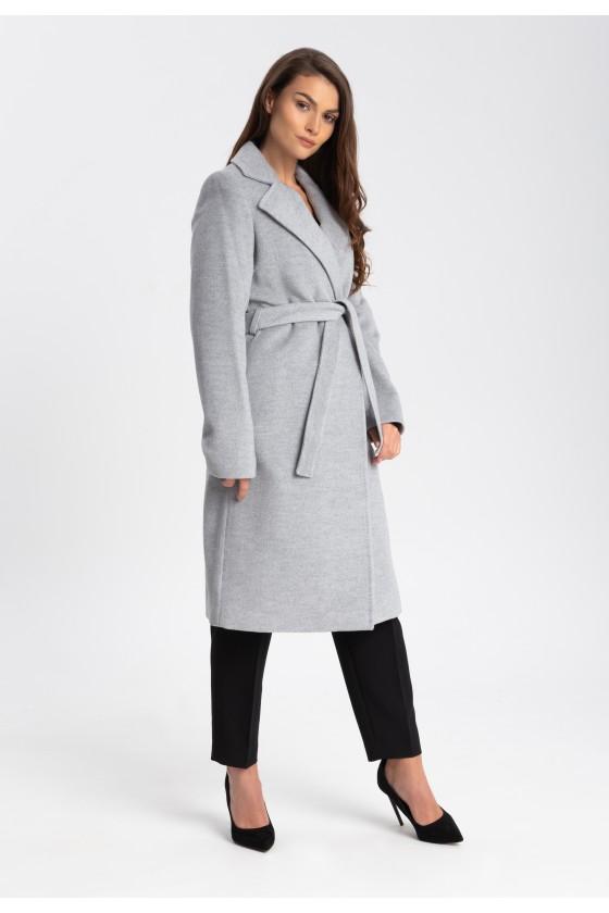 Płaszcz m433 szary