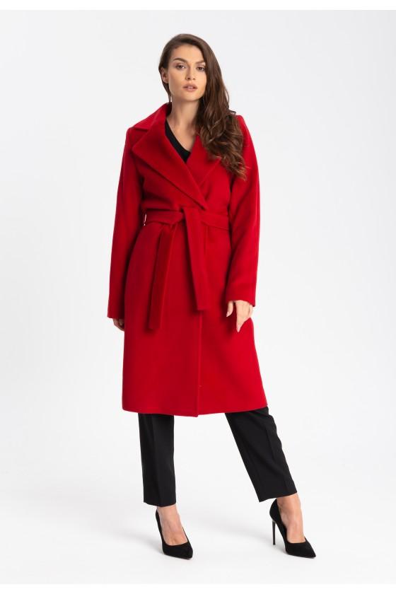 Płaszcz m433 czerwony