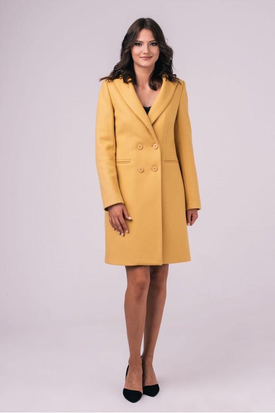Płaszcz m480 żółty
