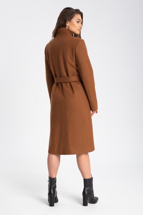Płaszcz m515 brązowy