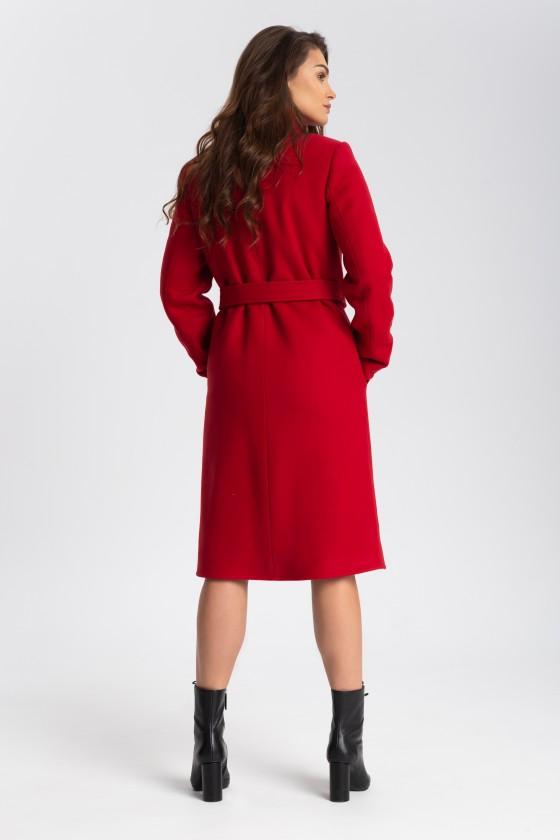 Płaszcz m515 czerwony
