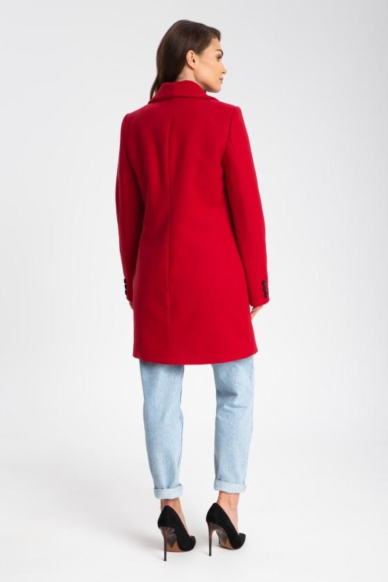 Płaszcz m516 czerwony