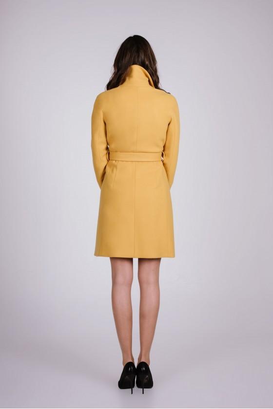 Płaszcz m499 żółty