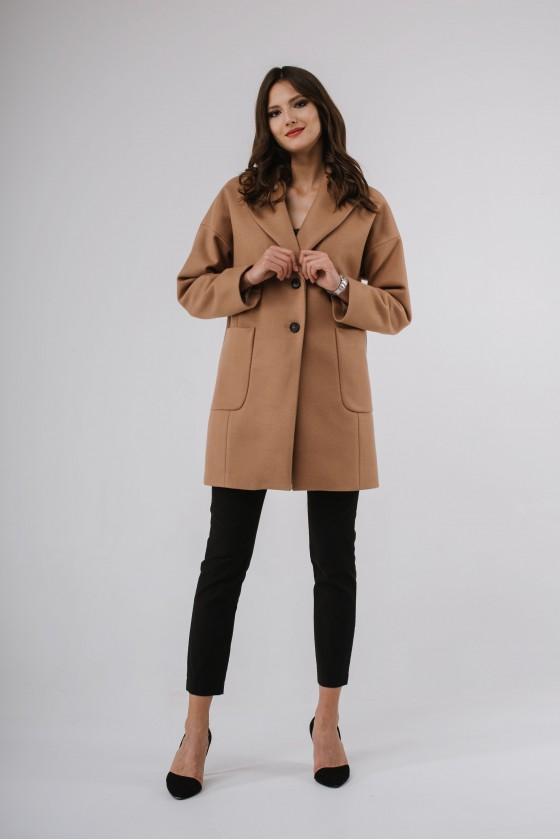 Płaszcz m495 camelowy