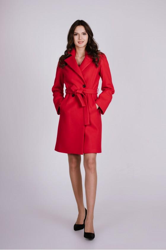 Płaszcz m499 czerwony