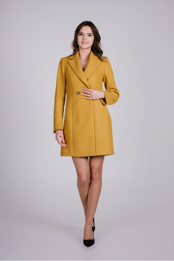 Płaszcz m502 żółty