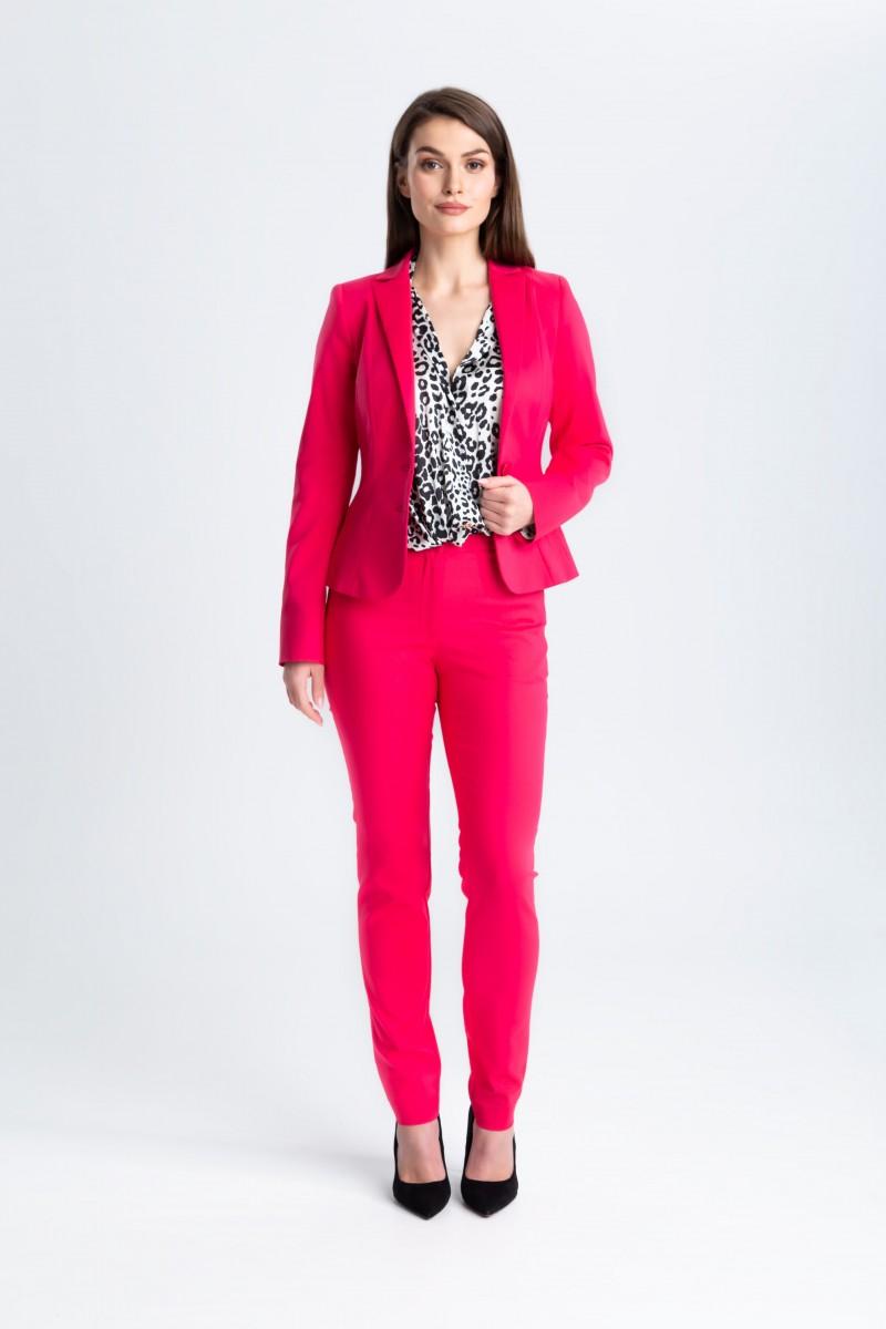 Damski, kobiecy garnitur żakiet m670 + spodnie m808 Szulsit