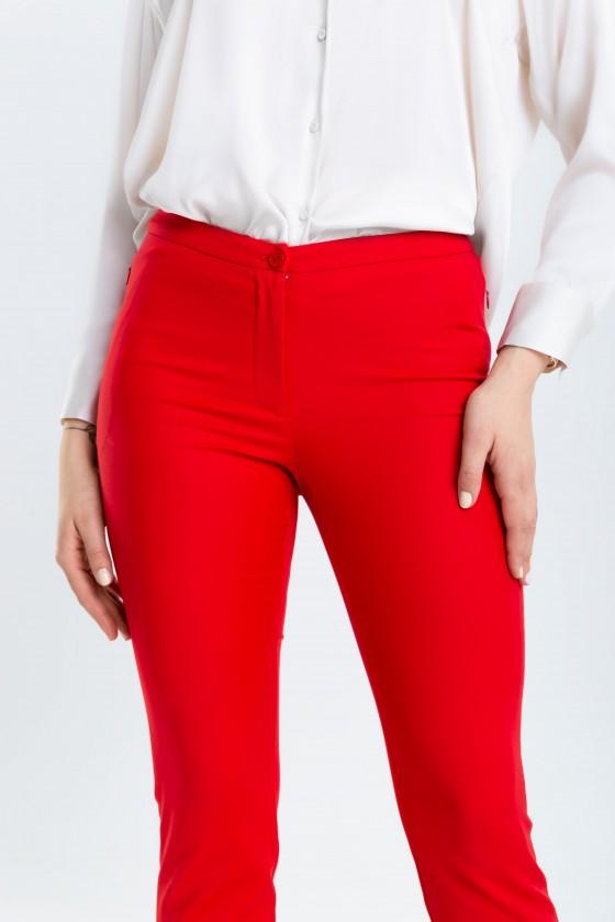 Spodnie m808 amarantowe